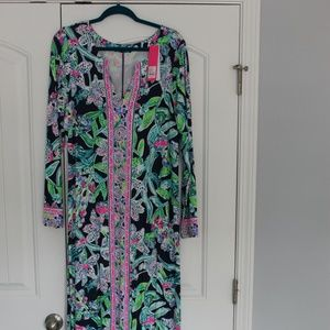 NWT Lilly Pulitzer UPF 50+Faye Maxi Dress